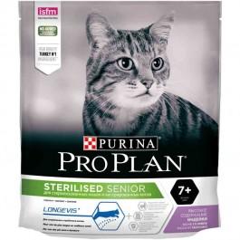Purina Proplan Cat Sterilised Adult 7+ Dinde 400 grs - Dogteur