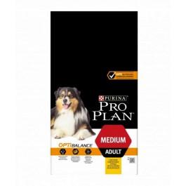 Purina ProPlan Dog Medium AdultOPTIBALANCE remplaceOPTIHEALTH 3 kg - Dogteur