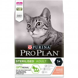Purina Proplan Optirenal Adult Cat Sterilised Saumon 10 kg - Dogteur