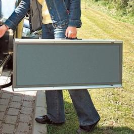 Trixie rampe d'accès téléscopique 43 x 100 - 180 cm - Dogteur