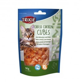 Trixie Premio Cubes au Poulet et Fromage pour Chat 50 grs - Dogteur