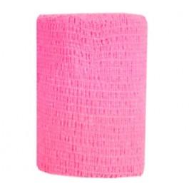 Bandes Cohésives 10 cm Rose Fluo - Dogteur