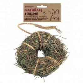 Rosewood Naturals Friandise Anneau luzerne - Dogteur