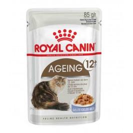 Royal Canin Ageing +12 en sauce Chats de plus de 12 ans Sachet 12 x 85 grs  - Dogteur