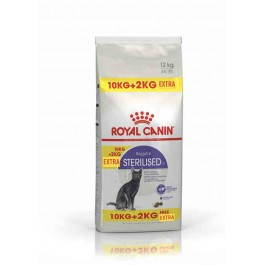 Royal Canin Féline Health Nutrition Sterilised 37 - 10 kg + 2 kg offerts - Dogteur