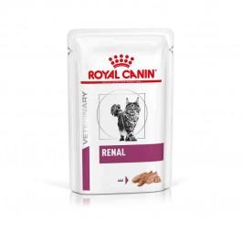 Royal Canin Veterinary Diet Cat Renal Poulet BOITES 12x195 grs - Dogteur