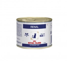 Royal Canin Veterinary Diet Cat Renal Poulet BOITES 12x195 grs - Dogteur