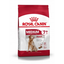 Royal Canin Medium Adult + de 7 ans 10 kg - Dogteur