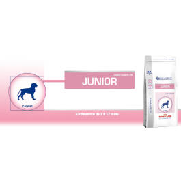 Royal Canin Vet Care Nutrition Junior Medium Dog 4 kg - Dogteur