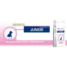 Royal Canin Vet Care Nutrition Neutered Junior Medium Dog 4 kg - Dogteur