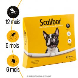 Scalibor Collier Petit et Moyen Chien 48 cm - Dogteur