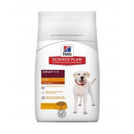 Hill's Science Plan Canine Adult Large Light au poulet 12 kg - Dogteur