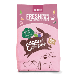 Edgard & Cooper Croquettes Lapin frais sans céréale Chien Senior 7 kg - Dogteur