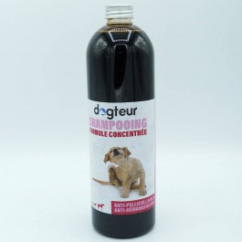 Offre Dogteur: 1 Shampooing PRO Dogteur Cade 500 ml acheté = 1 gant de toilettage offert - Dogteur