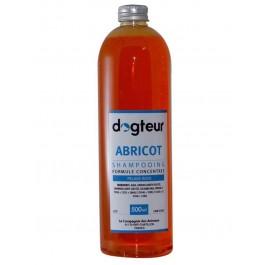 Offre Dogteur: 1 Shampooing PRO Dogteur Abricot 500 ml acheté = 1 gant de toilettage offert - Dogteur
