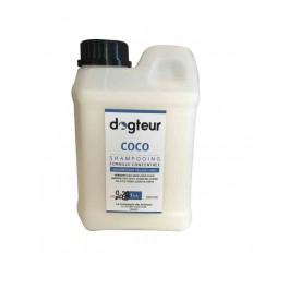 Offre Dogteur: 1 Shampooing PRO Dogteur Huile de Coco 1 L acheté = 1 gant de toilettage offert - Dogteur