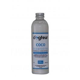Offre Dogteur: 1 Shampooing PRO Dogteur Huile de Coco 250 ml acheté = 1 gant de toilettage offert - Dogteur
