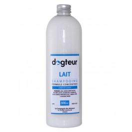 Offre Dogteur: 1 Shampooing PRO Dogteur Lait 500 ml = 1 gant de toilettage offert - Dogteur