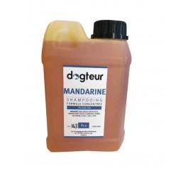 Offre Dogteur: 1 Shampooing PRO Dogteur Mandarine 1 L acheté = 1 gant de toilettage offert - Dogteur