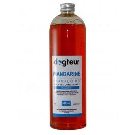 Offre Dogteur: 1 Shampooing PRO Dogteur Mandarine 500 ml acheté = 1 gant de toilettage offert - Dogteur