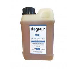 Offre Dogteur: 1 Shampooing PRO Dogteur Miel 1 L acheté = 1 gant de toilettage offert - Dogteur