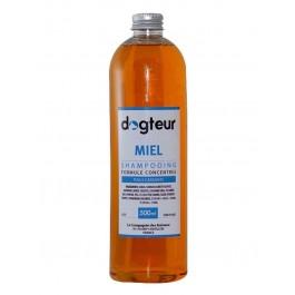 Offre Dogteur: 1 Shampooing PRO Dogteur Miel 500 ml acheté = 1 gant de toilettage offert - Dogteur