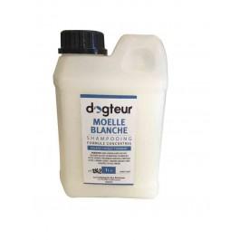 Offre Dogteur: 1 Shampooing PRO Dogteur Moelle Blanche 1 L acheté = 1 gant de toilettage offert - Dogteur