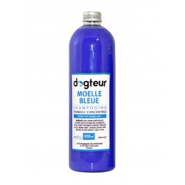Offre Dogteur: 1 Shampooing PRO Dogteur Moelle Bleue 500 ml acheté = 1 gant de toilettage offert - Dogteur