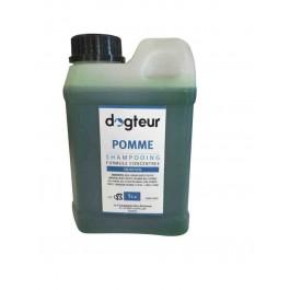 Offre Dogteur: 1 Shampooing PRO Dogteur Pomme 1 L acheté = 1 gant de toilettage offert - Dogteur