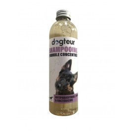 Offre Dogteur: 1 Shampooing PRO Dogteur Soufre 250 ml = 1 gant de toilettage offert - Dogteur