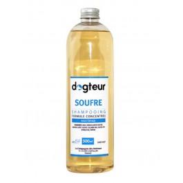 Offre Dogteur: 1 Shampooing PRO Dogteur Soufre 500 ml acheté = 1 gant de toilettage offert - Dogteur