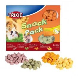 Trixie Snack Pack friandises pour petits animaux 4 × 35 g - Dogteur
