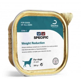 Specific Chien CRW-1 Weight Reduction 6 x 300 grs - Dogteur