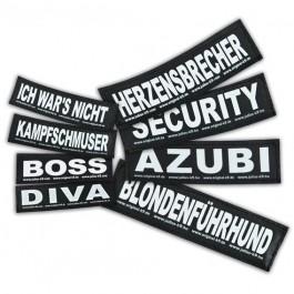 2 Stickers Velcro Julius K9 taille L GIRLPOWER - Dogteur