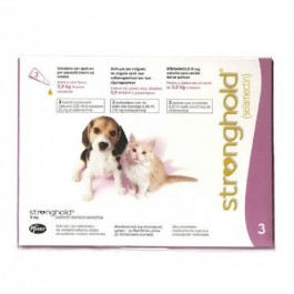 Stronghold 15 mg Chiot Chaton < 2,5 kg 3 pipettes - Dogteur