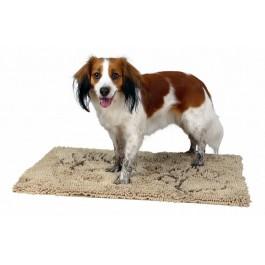 Trixie Tapis absorbant anti-saletés beige pour chien 100 × 70 cm - Dogteur