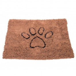 DGS Dirty Dog Doormats Tapis marron L - Dogteur