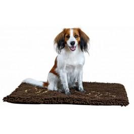 Trixie Tapis absorbant anti-saletés rembourré brun pour chien 80 × 55 cm - Dogteur