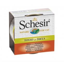 Schesir Thon avec Citrouille pour chat 14 x 70 g - Dogteur