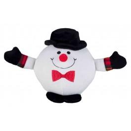 Trixie Balle Pères Noël, pingouins et bonshommes de neige 18 cm - Dogteur