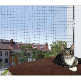 Trixie Filet de protection noir fenêtre pour chat 3 x 2 m - Dogteur