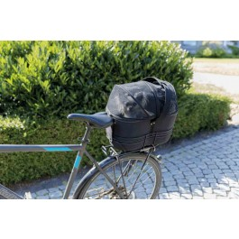 Trixie Biker Bag Sac de transport pour chien sur porte bagage 35 × 28 × 29 cm - Dogteur
