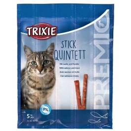 Trixie Premio Anti-Hairball avec Saumon et Truite en Stick pour Chat 20 grs - Dogteur