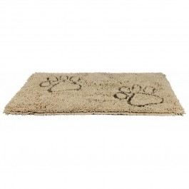 Trixie Tapis absorbant anti-saletés beige pour chien 80 × 55 cm - Dogteur