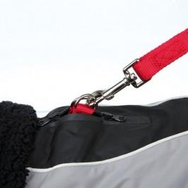 Trixie Manteau Hiver Marne Noir / Gris 30 cm - Dogteur