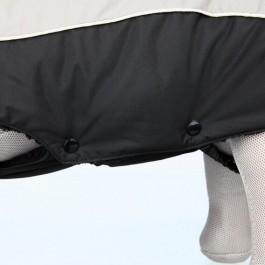 Trixie Manteau Hiver Marne Noir / Gris 40 cm - Dogteur