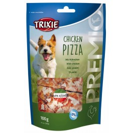 Trixie Premio Chicken Pizza friandises chien 100 g - Dogteur