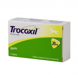 Trocoxil 20mg 2 cps - Dogteur