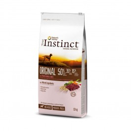 True Instinct Original Medium Maxi Adult Agneau 12 kg - Dogteur