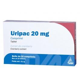 Uripac 20 mg 15 cps - Dogteur